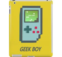 Geek boy iPad Case/Skin