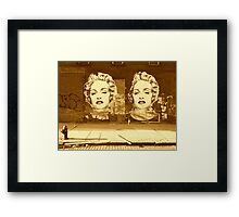 Material Girl Framed Print