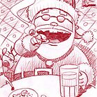 Santa's stop over... by Mike Cressy