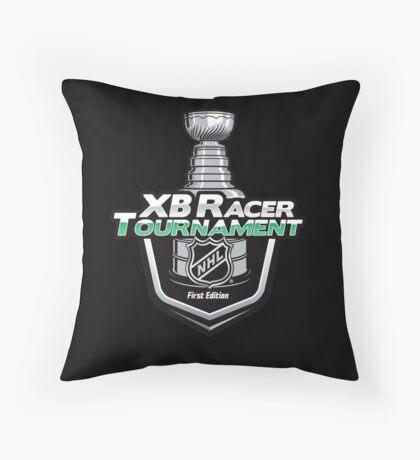 XB Racer NHL | Tournament 1° Ed Throw Pillow