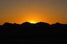 Arizona Sunset ~4 by Kimberly Chadwick