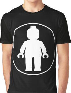 MINIFIG WHITE Graphic T-Shirt