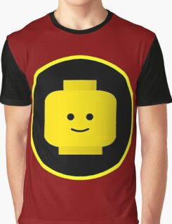 MINIFIG HAPPY FACE Graphic T-Shirt
