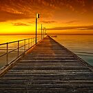 Frankston Pier - Orange by hangingpixels