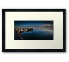 Frankston Pier - Calm Framed Print