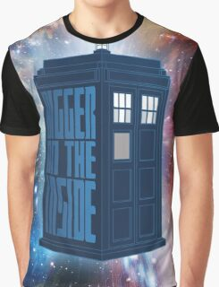 It's Bigger On The Inside. Graphic T-Shirt