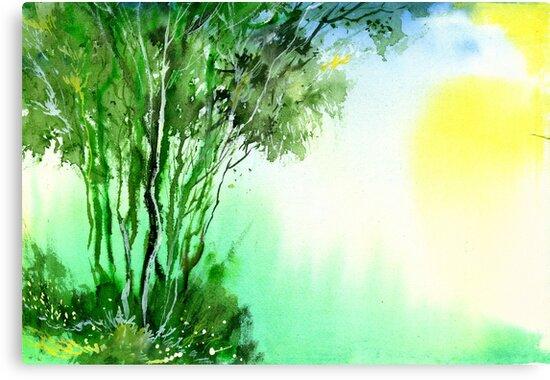 Green 1 by Anil Nene