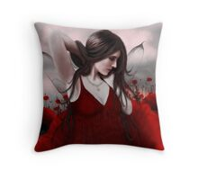 In a Field of Poppies Throw Pillow