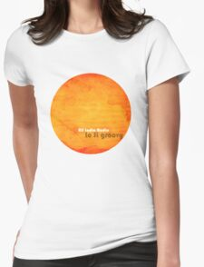 All India Radio - Lo Fi Groovy Tshirt Womens Fitted T-Shirt