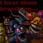FNAF 4 Nightmare Animatronics by ladyfiszi
