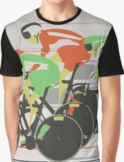 Velodrome bike race Graphic T-Shirt