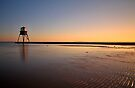 Sunset At The Beach, Dovercourt: 3 by Mat Robinson