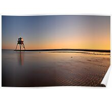 Sunset At The Beach, Dovercourt: 3 Poster