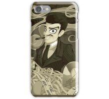 Gomez Addams- Black and White version iPhone Case/Skin