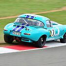 E-Type Jaguar No 7 by Willie Jackson
