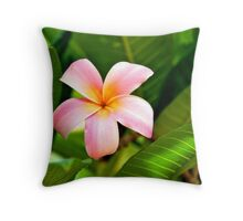 Another Awesome Exotic Asian Flower Throw Pillow