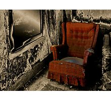 The Red Rocker Photographic Print