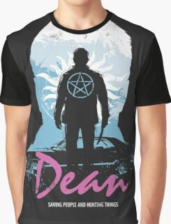 I Hunt, Therefore I Am (Dean - Supernatural & Drive) Graphic T-Shirt