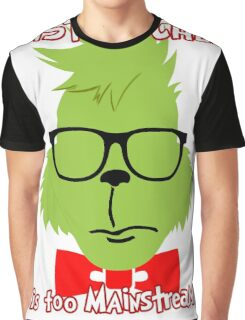 Hipster Grinch 2 Graphic T-Shirt