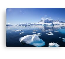 Wilhelmina Bay Antarctica  Canvas Print