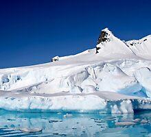 Wilhelmina Bay Antarctica  by PhotoStock-Isra