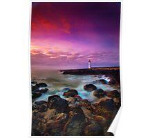Port Fairy Lighthouse - Sunrise Poster
