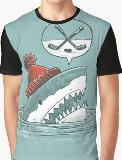The Hockey Shark Graphic T-Shirt