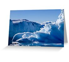 Wilhelmina Bay Antarctica Greeting Card
