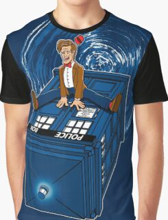How I learned to love the Tardis. Graphic T-Shirt