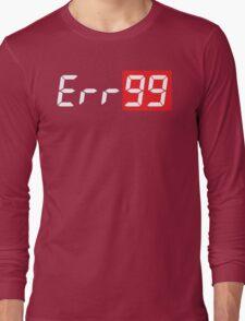 Err99 Canon Camera Long Sleeve T-Shirt