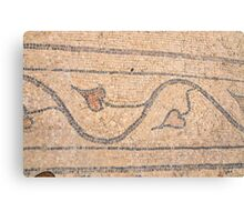 Israel, Bet Shean (Scythopolis). Mosaic Canvas Print