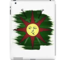 Dark Souls | Solaire of Astora Crest (WITHOUT TEXT) iPad Case/Skin