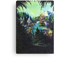 Mountain Hideaway Canvas Print