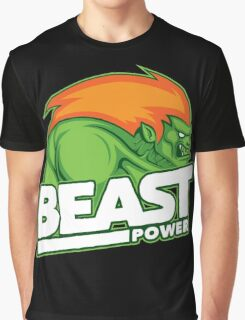 Beast Power Graphic T-Shirt