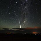 Comet Lovejoy over Mannum by Wayne England