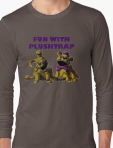FNAF 4 - Fun with Plushtrap Long Sleeve T-Shirt