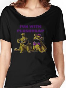 FNAF 4 - Fun with Plushtrap Women's Relaxed Fit T-Shirt