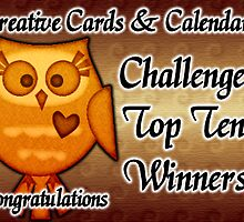creative cards & calendars top ten winners by LoneAngel
