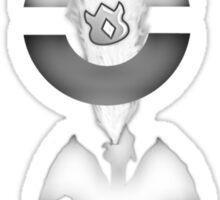 Cinnibar island gym Sticker