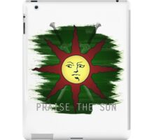 Dark Souls | Solaire of Astora Crest (WITH TEXT) iPad Case/Skin