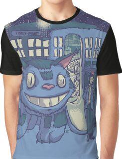CatTardis Parody Graphic T-Shirt