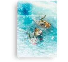 The Teacup Racers Canvas Print