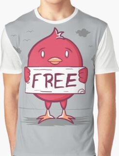 Free Bird Graphic T-Shirt