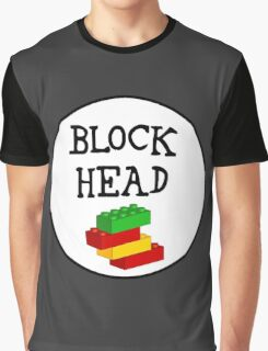 BLOCK HEAD  Graphic T-Shirt