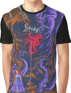 Demon and Child Graphic T-Shirt