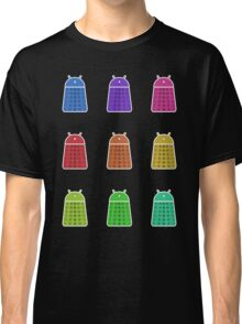 Rainbow Android Daleks Classic T-Shirt