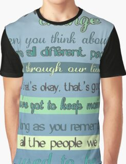 the doctor quote Graphic T-Shirt