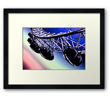 London Eye Abstract View Framed Print