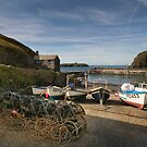 Mullion cove harbour  by eddiej