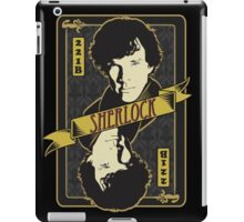 221B Playing Card iPad Case/Skin
